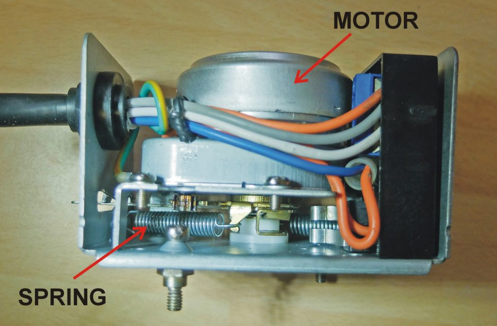 3-port valve motor