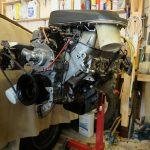 3.5 litre Rover V8 engine