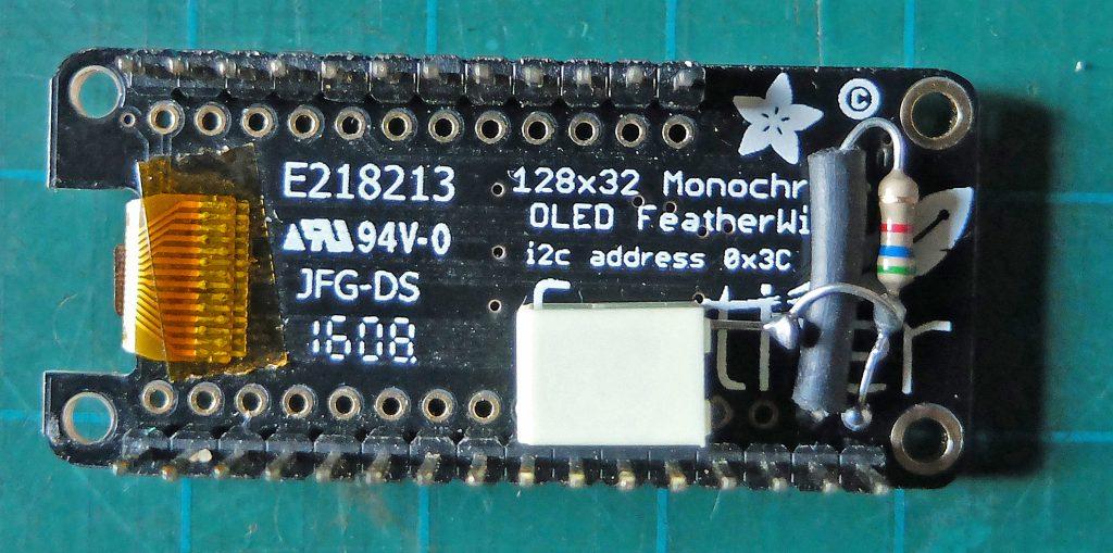OLED display - damp meter