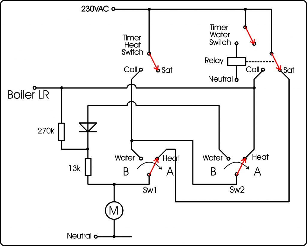 3-port valve case 5
