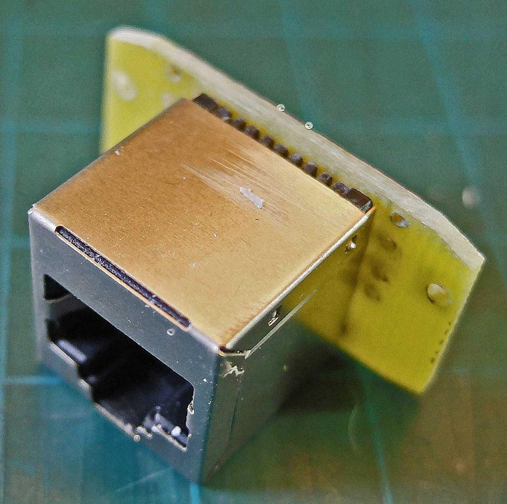 RJ45 used for I2C socket
