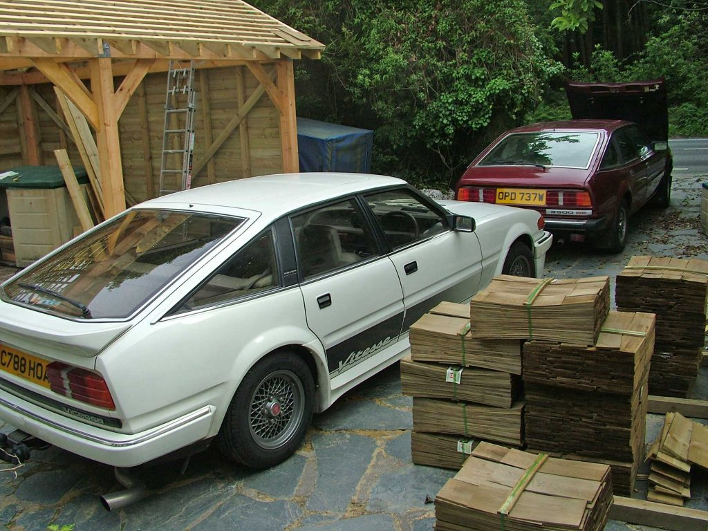 SD1 Vitesse and shingles for roof