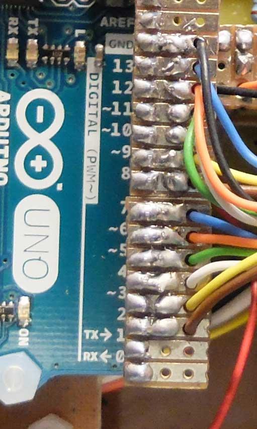 Arduino header plugs