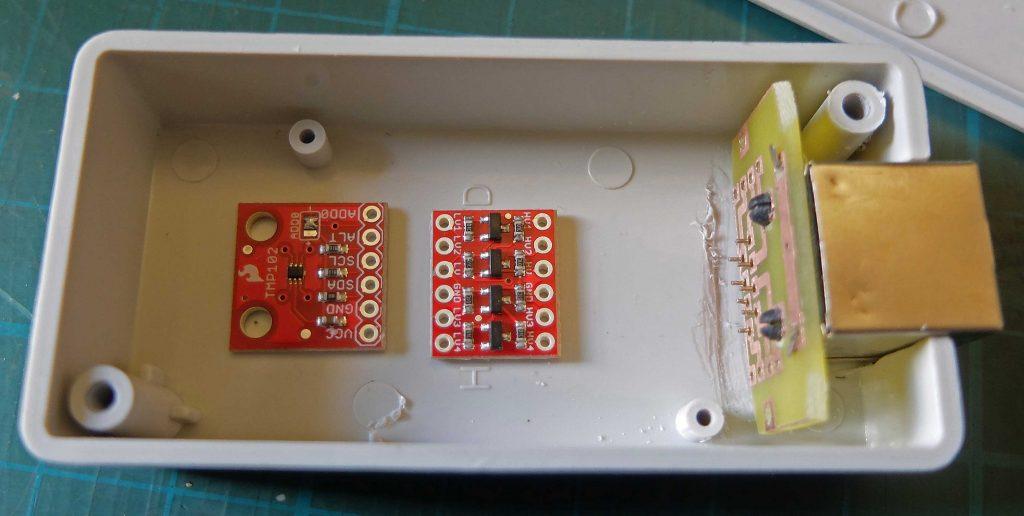 Temperature sensor boards