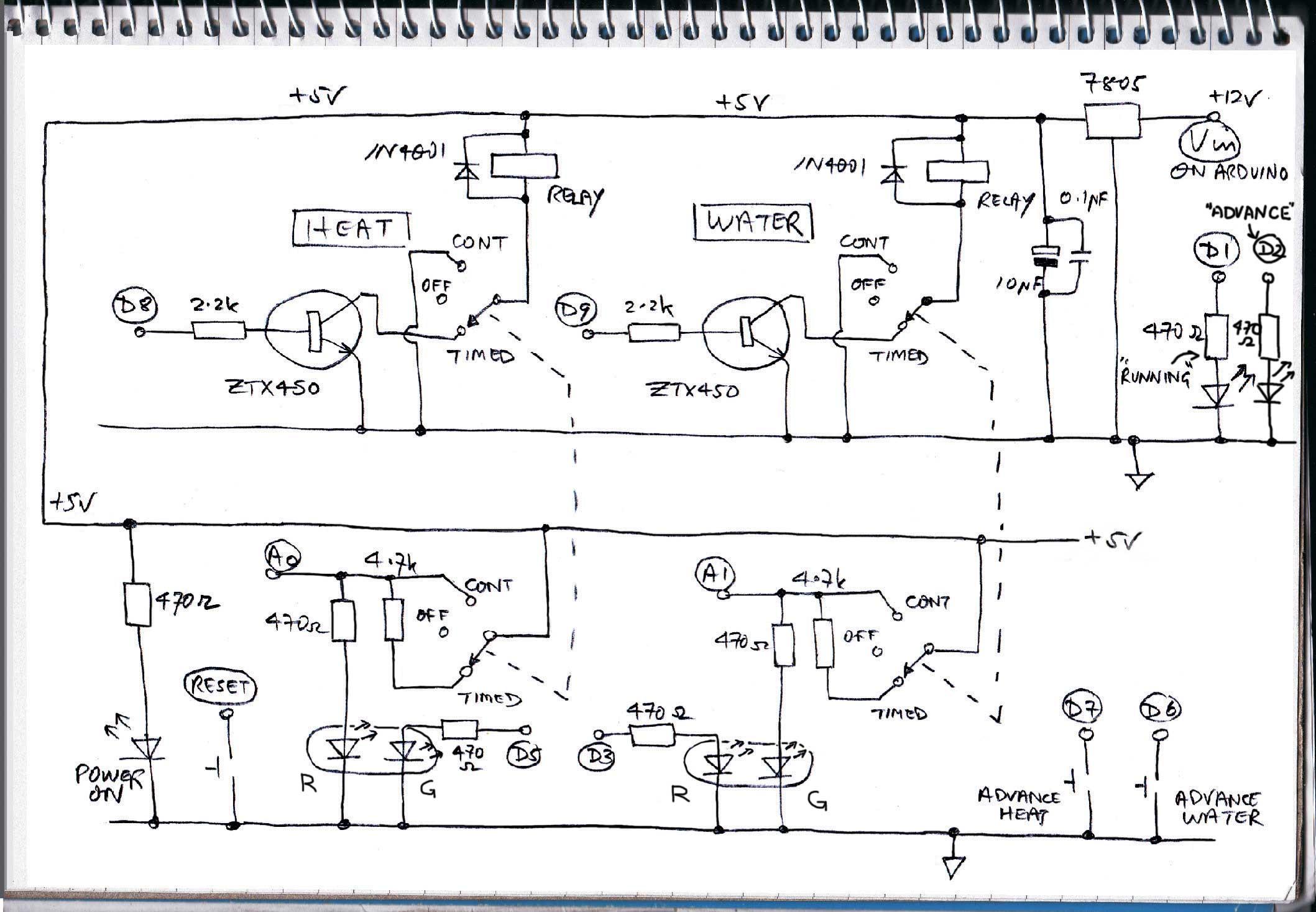 Boiler main circuit diagram