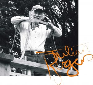 Julian Rogers with signature