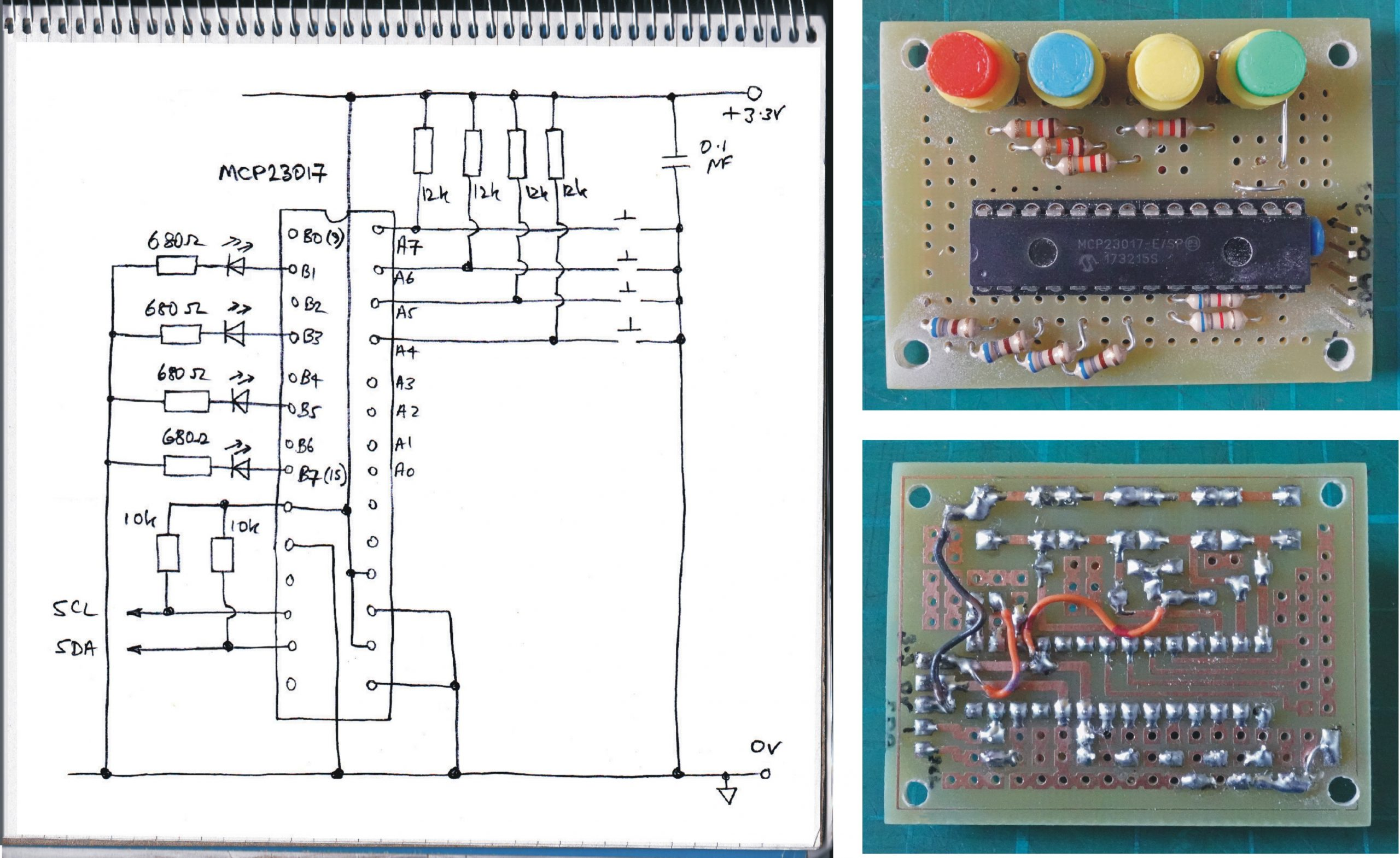Watering system remote switch pcb & circuit