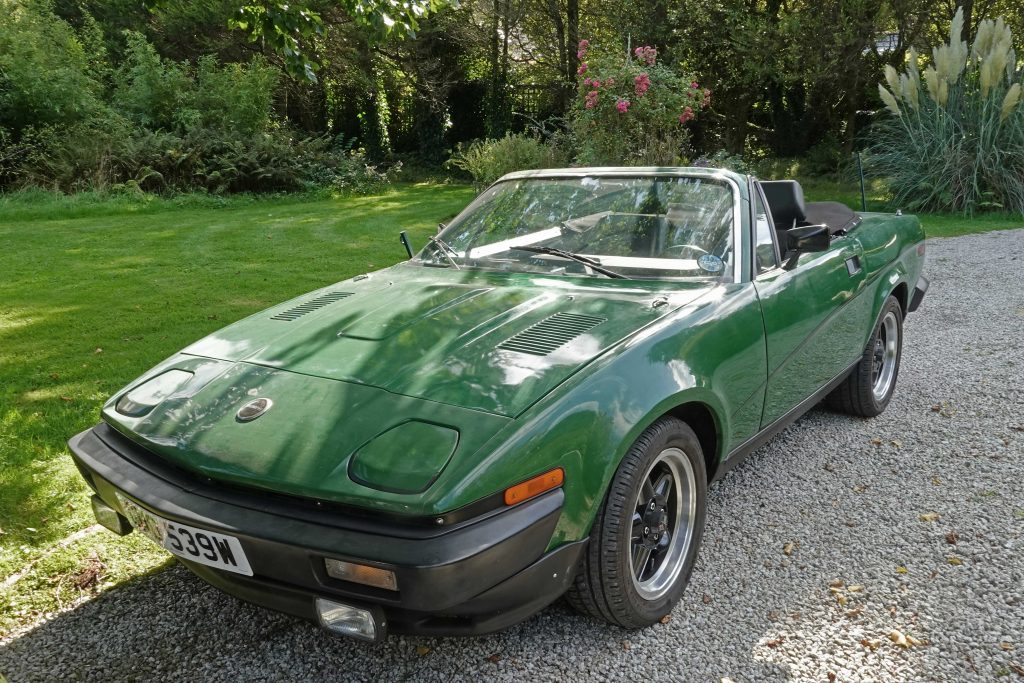 TR7 V8 with upgrades