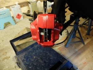 4-pot, ventilated disc upgrade for Triumph Tr7