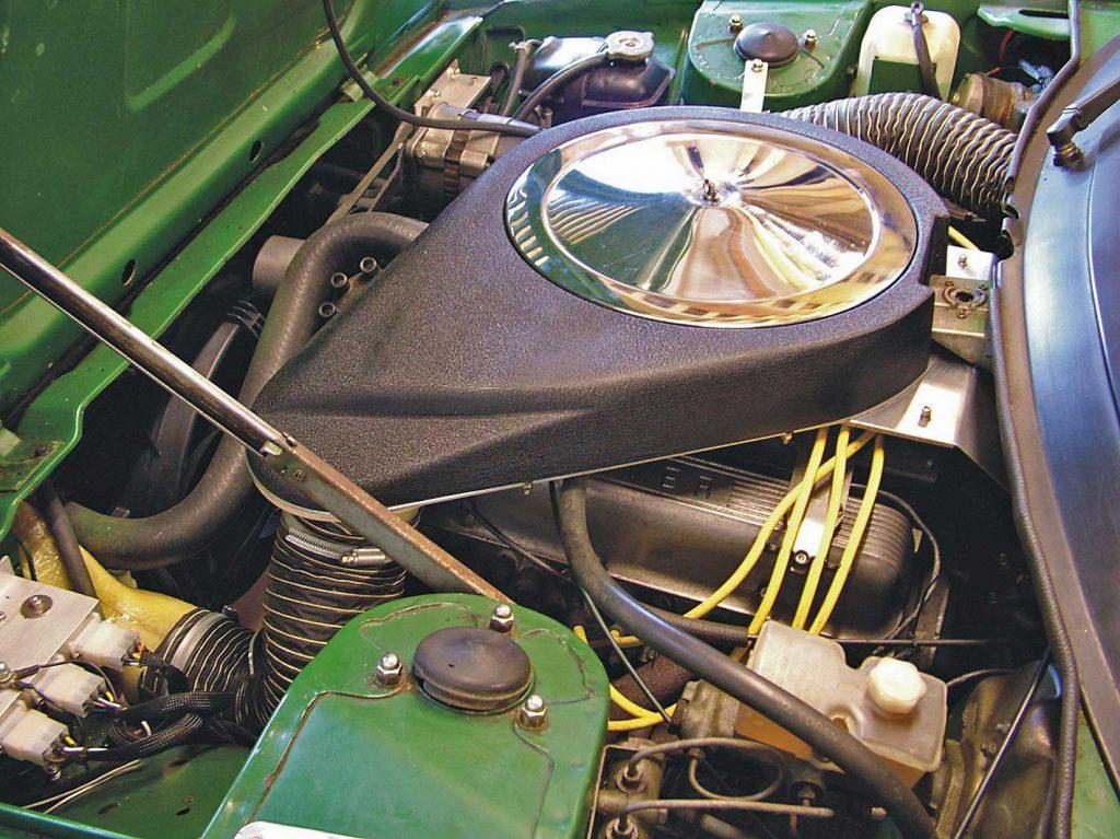 Rover V8 in Triumph TR7