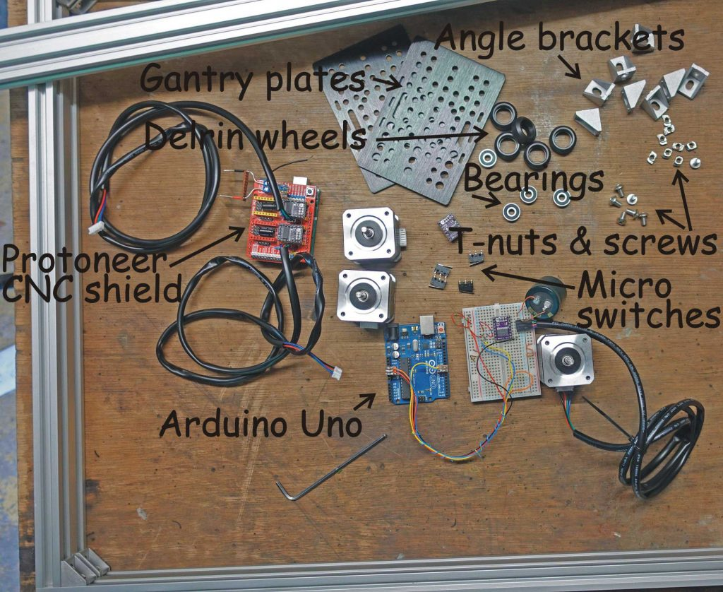 parts for laser cutter