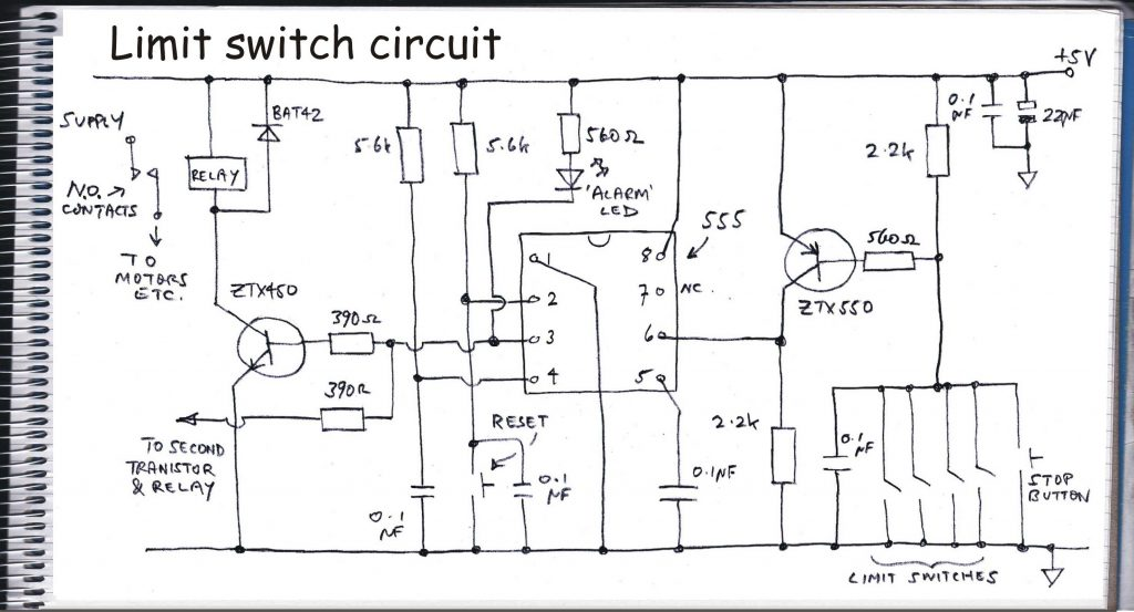 limit switch circuit