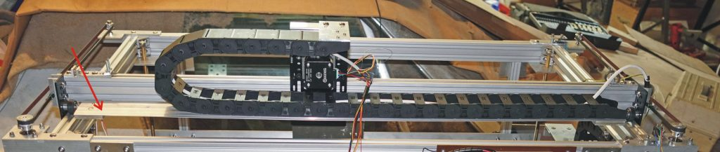 Laser cutter trunking