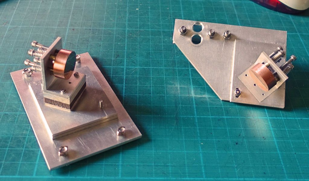 Laser cutter - mirrors one and two
