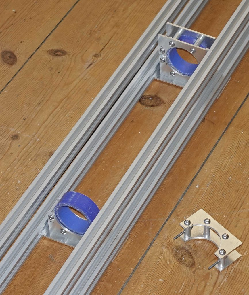 Laser cutter - clamps for CO2 laser