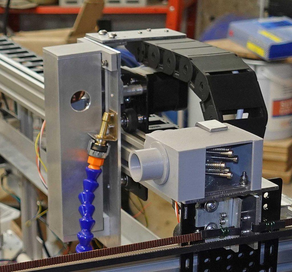 Laser cutter - mirror on gantry
