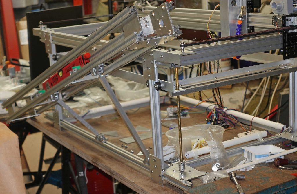 Laser cutter - laser cradle fitting