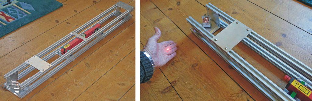 Laser cutter - laser cradle test