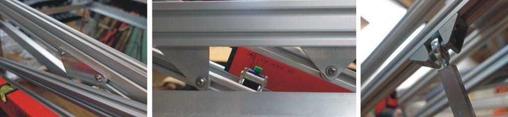 laser cutter cradle support