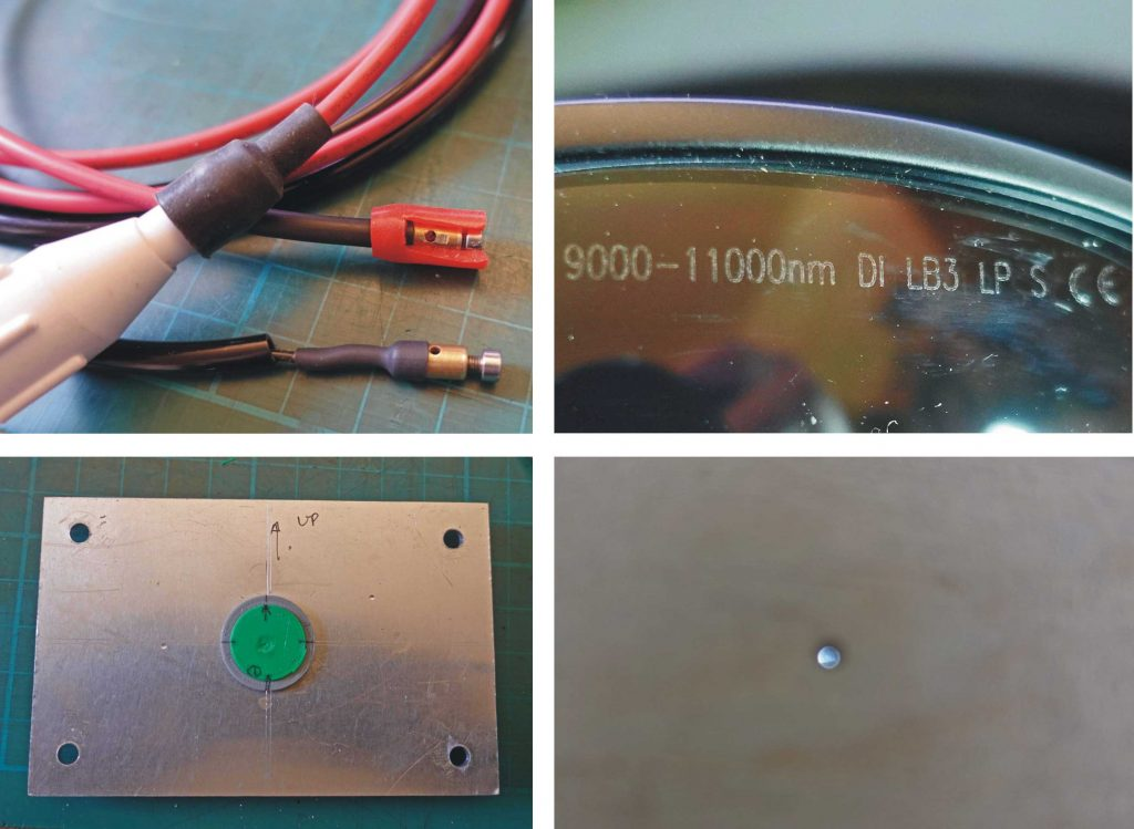 laser cutter glasses & other parts