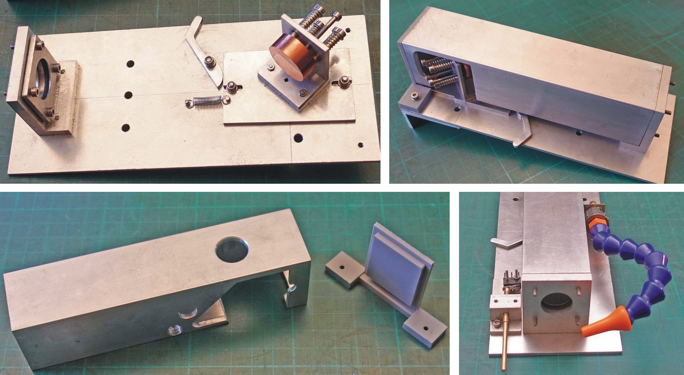 Laser cutter mirror and lens assembly