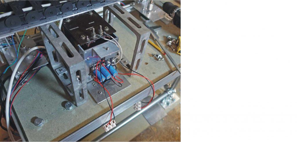 Laser cutter: circuit board brackets