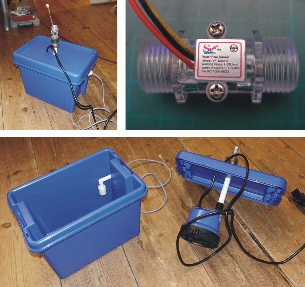 laser water pump parts