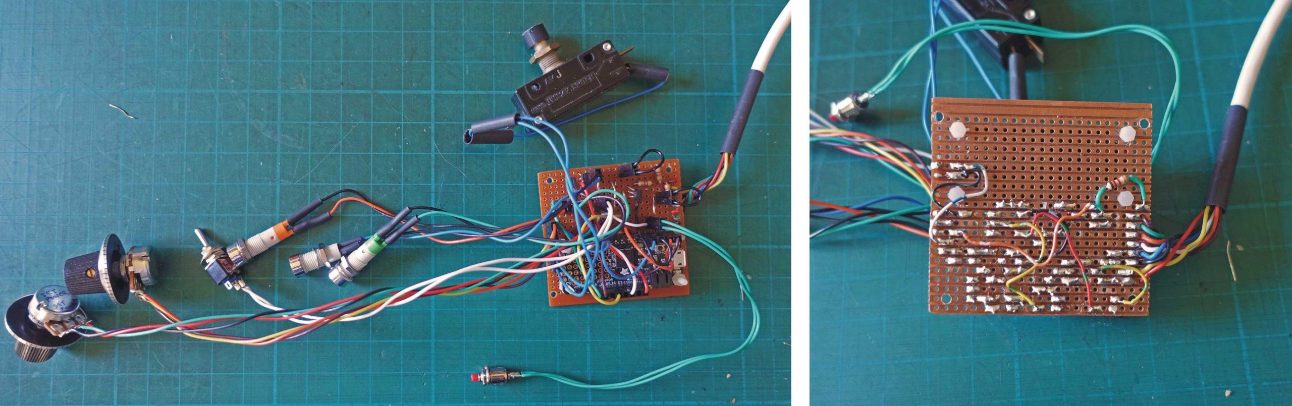 Laser management circuit